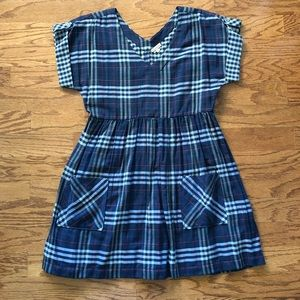 Anthropologie Plaid Dress by Holding Horses